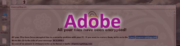 Cara mengatasi Adobe ransomware – mendekripsi ekstensi virus .adobe / .adobee
