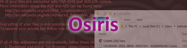 Cara menghapus ransomware Osiris: file virus .osiris decryptor