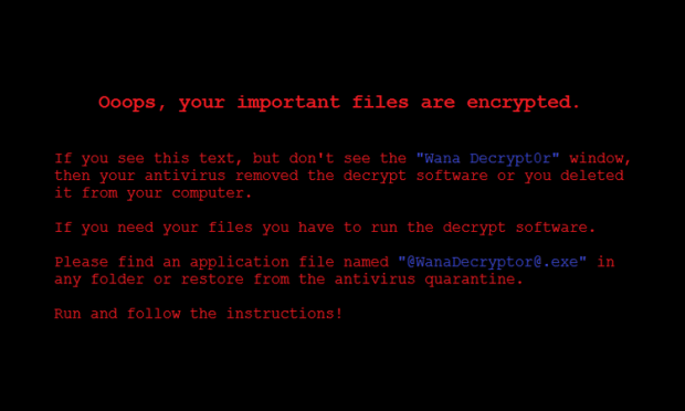 WannaCry wallpaper desktop